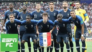 Video Who was France's best player during their 2018 World Cup title? | ESPN FC MP3, 3GP, MP4, WEBM, AVI, FLV Desember 2018