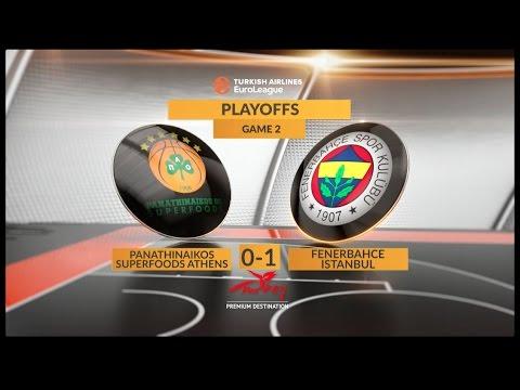 #GameON trailer: Panathinaikos Superfoods Athens-Fenerbahce Istanbul, Game 2