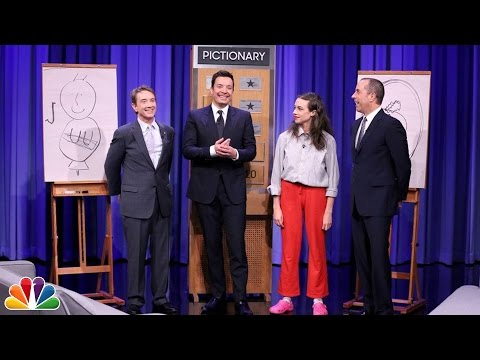 Pictionary with Martin Short, Jerry Seinfeld and Miranda Sings