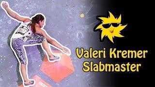 Valeri Kremer, Slabmaster | Sunday Sends by OnBouldering