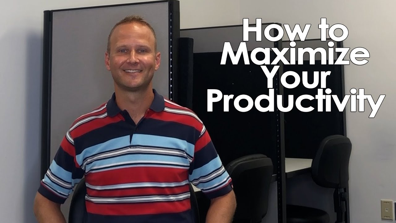 3 Tips to Maximize Your Productivity in Real Estate