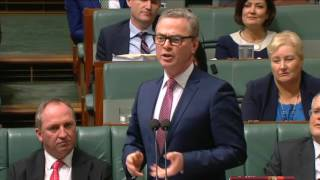 Question from the Member for Corangamite to the Minister for Defence Industry, representing the Minister for Employment, on examples of union activities which would be eradicated through the introduction of vital reforms banning secret payments between big unions and big business.