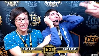 Toph/Scar/Mango Commentary Highlights @ CEO 2015