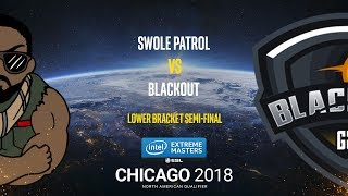 Swole Patrol vs BlackOut - IEM Chicago 2018 NA Quals - map1 - de_nuke [SleepSomeWhile]