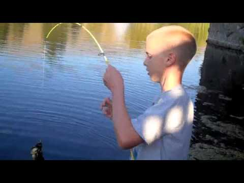 bass fishing with assorted bait's
