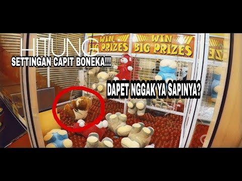 """WOW"" Settingan Mesin Capit Boneka Indonesia ( Claw Machine )"
