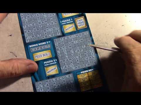 3 NEW $20.00 $2,000,000 Dollar Grand Crosswords