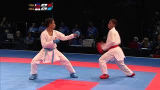 Video KL2017 29th SEA Games | Karate - Men's Kumite ↓55kg FINALS - 🇵🇭 PHI vs 🇮🇩 INA | 23/08/2017 MP3, 3GP, MP4, WEBM, AVI, FLV Februari 2019