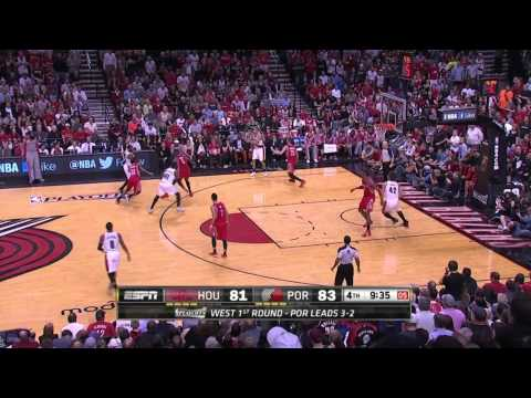 Houston Rockets vs Portland Trail Blazers Game 6 | May 2, 2014 | NBA Playoffs 2014 (видео)