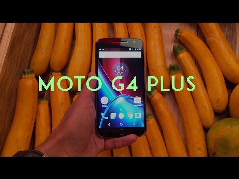 Moto G4 Plus First Look Video