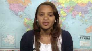 Robert H. Smith School of Business student Brija Johnson talks about studying abroad in the United Arab Emirates.