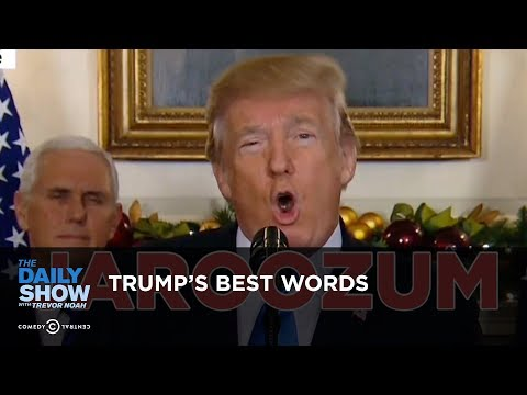 Trump's Best Words: The Daily Show