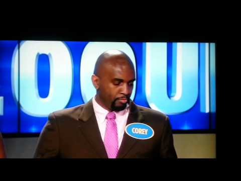 Corey Manning on THE FAMILY FEUD