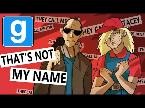 IN - They call me traitor, they call me Lisa, they call me Ronald - that's not my name. I'm playing Garry's Mod Trouble In Terrorist Town with the magnificent Hat Films, the ever-loud Turps, the...