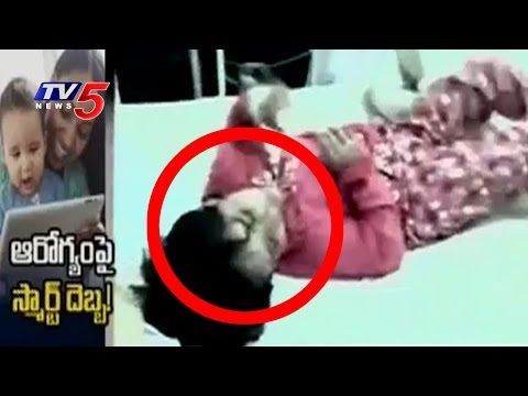 Viral Video of a Child Addicted to Smart Phones and Internet   Unbelievable Stories