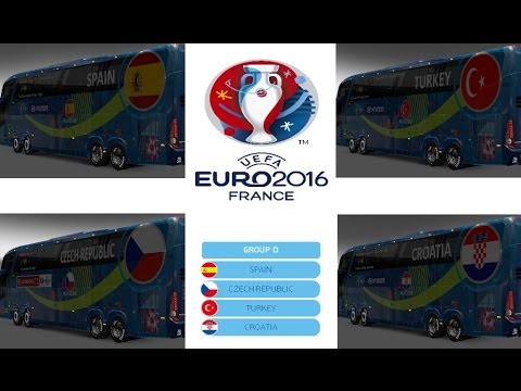 Rewind Bus Marcopolo G7 1600LD Group D Teams Official Buses