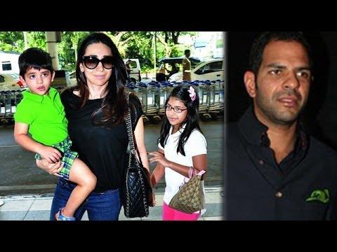 Karisma Kapoor's married life in trouble Sanjay Ka