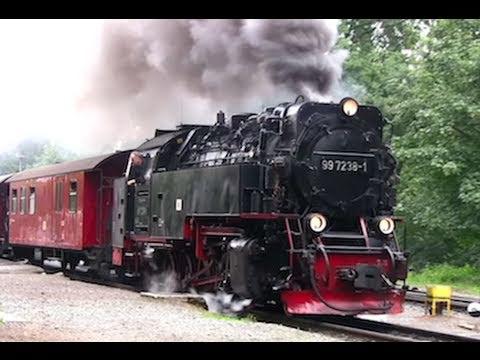 Der Harz dampft  2/2 - Dampflok / Steam Train / Eisenbahn - Zug