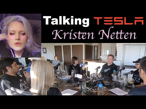 Talking TESLA with K10 - Kristen Netten