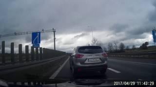 Wyjazd na majówkę z Gdańska, droga nr 7 i starcie z szeryfami…