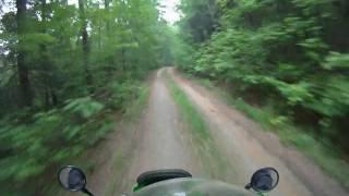 8. 2006 KLR 650 Ride GoPro HD Hero
