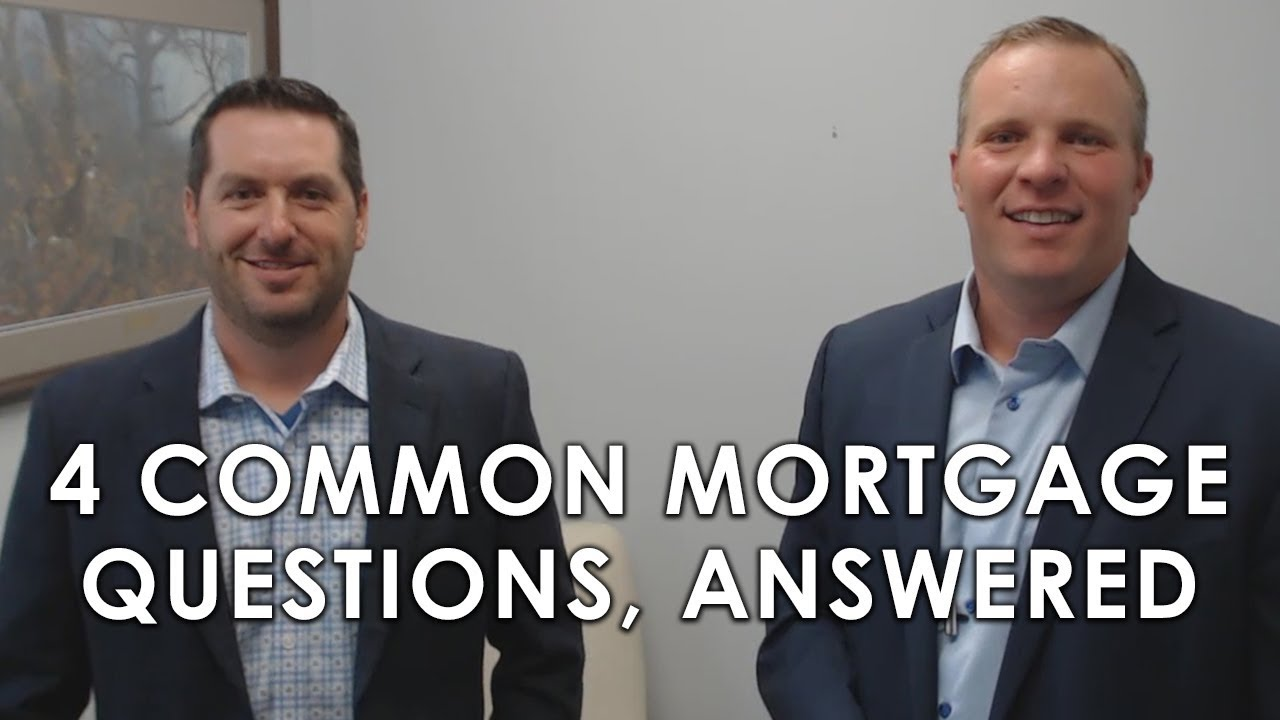 What a Mortgage Expert Has to Say About the Most Common Lending Questions