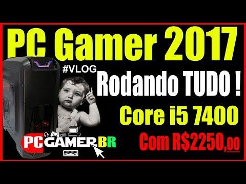 Montando Pc Gamer i5 7400 Roda tudo 2017