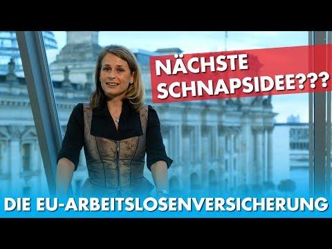 EU-Ausschußmitglied Corinna Miazga deckt auf Das nächste faule Ei aus Brüssel: Die EU-Arbeitslosenversicherung