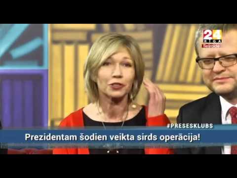 """Veselības ministrs Dr. Guntis Belēvičs Rīga TV24: raidījumā """"Preses klubs"""", raidījuma 1.daļa"""