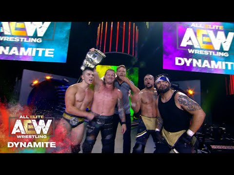 #AEW DYNAMITE EPISODE 1: THE UNBELIEVABLE ENDING THAT WILL LEAVE YOU SPEECHLESS