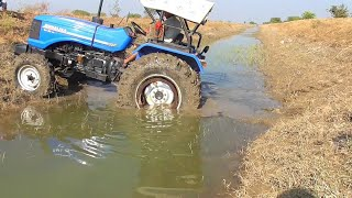 Tractor failed in canal | Tractor fail completion | Sonalika di 60 Rx stuck in mud