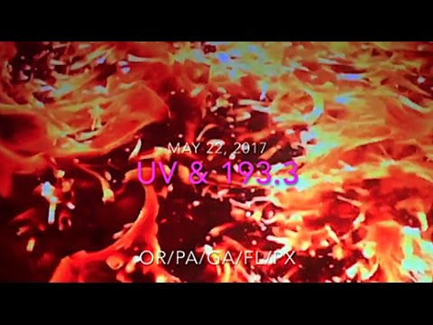 Sun UV Radiation   HOT 193.3 EARTH   Team UV-USA_Legjobb videók: Nap