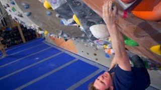 Nikken Crimps So HARD His Fingers HURT This Bouldering Session! by Eric Karlsson Bouldering