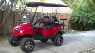 4. Club Car Precedent Phantom Lifted Golf Cart (Overview)
