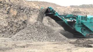 The new Powerscreen XH500 impact crusher from Blue Group.