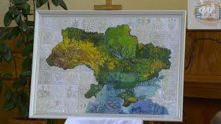Віч-на-віч: Презентація рельєфної арт мапи України