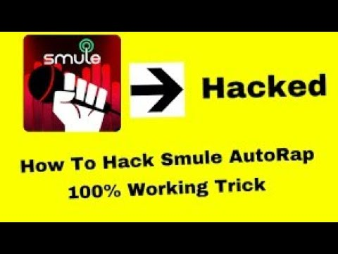 HOW TO HACK SMULE AUTORAP||FREE FREE UNLIMITED TUNES TO CHOOSE || 100%WORKING TRICK ||•NEW 2017•||