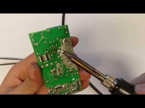 Repairing 12v 15W LED power supply