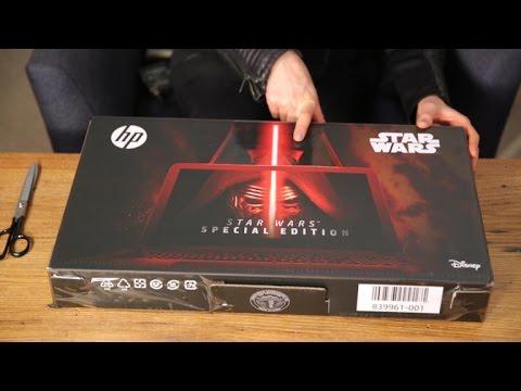 El 'unboxing' de la computadora HP de 'Star Wars'