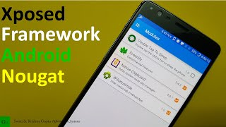 Xposed Framework is now available for Android Nougat. As of now this is a early port and the Modules Download are Failed on Android Nougat 7.0+. This video will guide you on how to fix this download error.Links & Instructions to Install : https://goo.gl/9cYrSv
