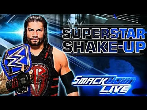 WWE Superstar Shake-Up/Draft Predictions 2018