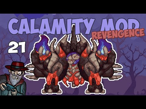 Terraria # 21 THE RAVAGER BOSS!! 1.2 Update - 1.3.5 Calamity Mod Let's Play Season 2