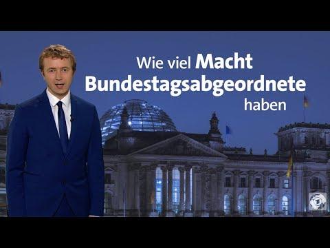 Wie viel Macht Bundestagsabgeordnete haben