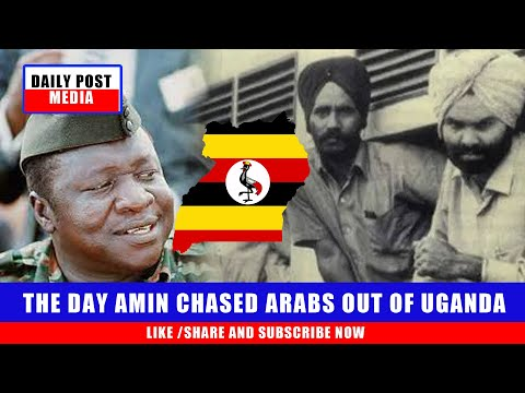 THE DAY IDD AMIN CHASED INDIANS IN UGANDA(😂😂😂😂AMIN WAS A HERO)