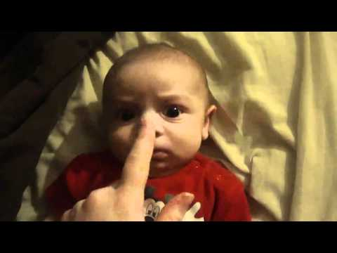Baby Scared By Mommy\'s Laugh