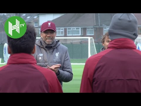 Liverpool Squad Sing 'Happy Birthday' To Fabinho Ahead Of UCL Training - Liverpool V Red Star