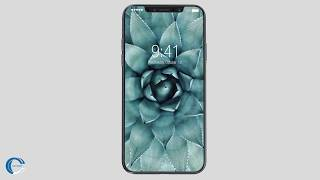 iPhone X introduction | Bezelless display, OLED display 458 PPI