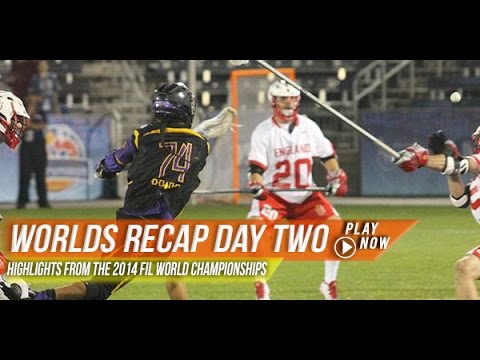 lax.com 2014 Men's World Championships Day 2 Recap