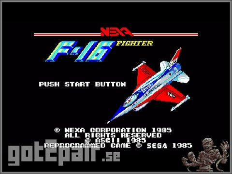 F-16 Fighter - Master System