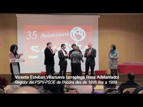 35 Aniversari del PSPV-PSOE de l'Alcora